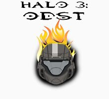 Halo 3: ODST Orange Flaming Helmet Unisex T-Shirt