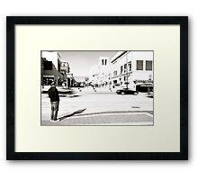 Pasadena waiting... Framed Print