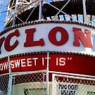 "The Coney Island ""Cyclone"" Rollercoaster by SylviaS"