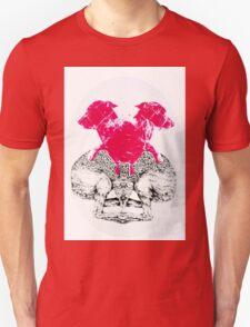 Melting dogs Unisex T-Shirt