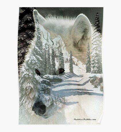 The Wilderness Spirit Poster