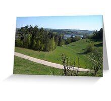 an awe-inspiring Poland landscape Greeting Card