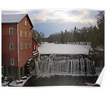 Dells Mill - Augusta, Wisconsin Poster