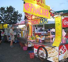 Banana Pancakes - Krabi, Thailand by Ginelle Colombo