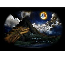 Smaug and the Lonely Mountain Photographic Print