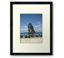 Thailand Travel - Thailand Framed Print