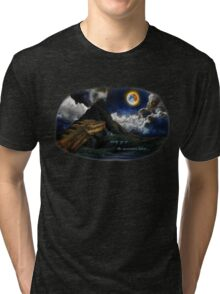 Smaug and the Lonely Mountain Tri-blend T-Shirt