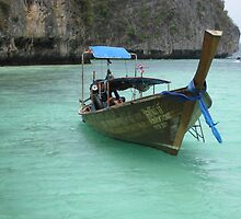 Blue Lagoon - Phi Phi Island, Thailand by Ginelle Colombo