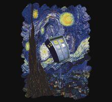 Tardis Starry Night by ShowArt