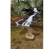 Small Mountain Stream - Vermont  Photographic Print