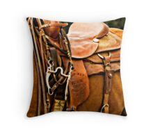Trophy Saddle Throw Pillow