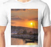 Greek Sunset Unisex T-Shirt