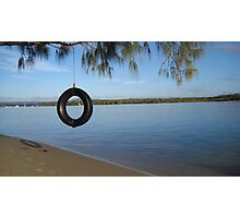 Tire Swing - Australia Photographic Print