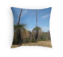 Desert Trees - West Coast, Australia Throw Pillow