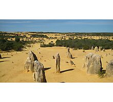 The Pinnacles - West Coast, Australia Photographic Print