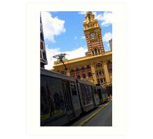 Flinders Street Art Print