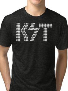 KST Black and White Tri-blend T-Shirt