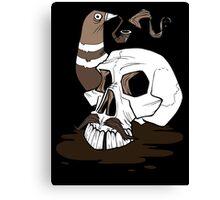 Colonel Pigeonpipe's Skull Canvas Print