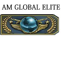 I am global elite  by SquincyJones
