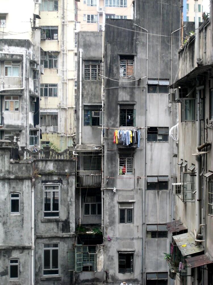 Hong Kong Ghetto - Hong Kong Island by Ginelle Colombo