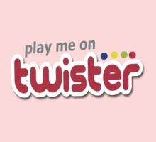 Play Me On Twister Baby Tee