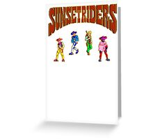16 bit outlaws Greeting Card