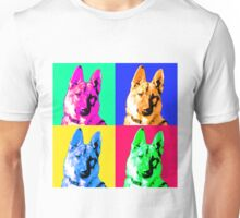 German Shepherd Pop Art Unisex T-Shirt