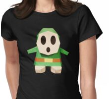 Green Paper ShyGuy Womens Fitted T-Shirt