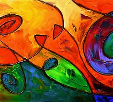 The Candy Tide by Abstract D'Oyley