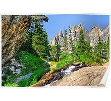 RMNP / Emerald Lake Hike Poster