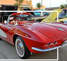 """Corvette """"Classy Chassis"""" by Dyle Warren"""