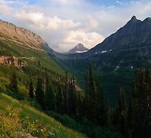 Logan Pass by alpinetrekker