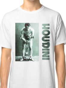 Harry Houdini in Chains Classic T-Shirt