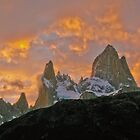 Amazing Sunrise - Fitz Roy National Park - Argentina by Craig Baron