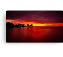 """The Blush Of Dawn"" Canvas Print"