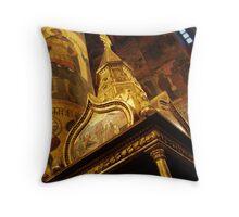 Golden Canopy, Moscow Throw Pillow