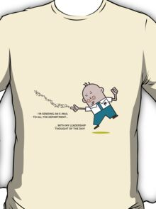 Mr. White Collar - Leadership Thought T-Shirt