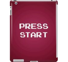 Push Start iPad Case/Skin