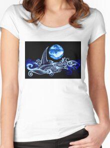 Lunar Sailing Women's Fitted Scoop T-Shirt