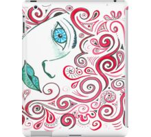 Curly Red iPad Case/Skin