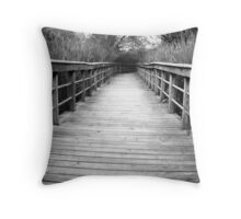 Oxbow Park Reed Walkway Throw Pillow