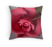 Red Red Rose. Throw Pillow