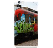Train at Slovenia iPhone Case/Skin