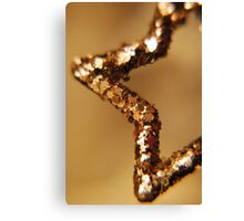 Star of Gold Canvas Print