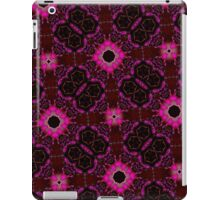 random pattern pink purple iPad Case/Skin