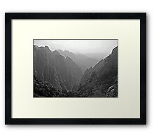 an inspiring China landscape Framed Print