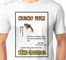 Crunchy Frogs - Whizzo Chocolate Co. Unisex T-Shirt