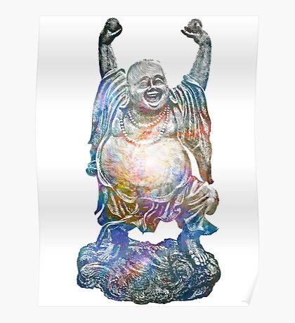 Mystic Whirlpool   Happy Buddha Remixx Poster