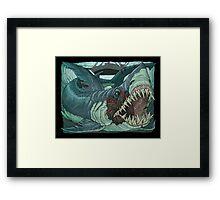 Jaws  Framed Print