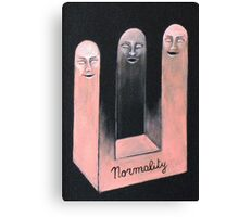 Normal persons Canvas Print